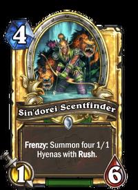 Golden Sin'dorei Scentfinder