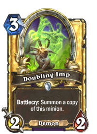 Golden Doubling Imp