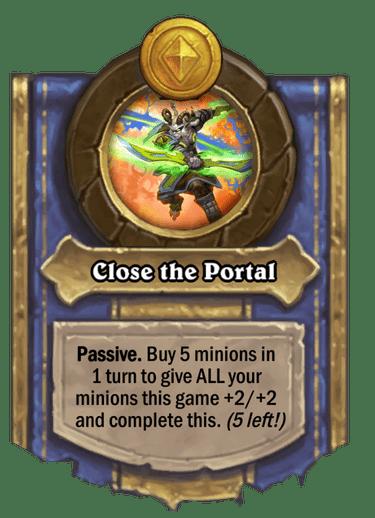 Close the Portal (Battlegrounds)