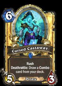 Golden Cursed Castaway