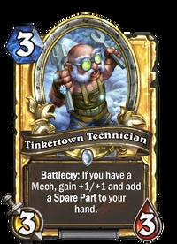 Golden Tinkertown Technician