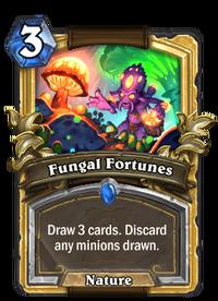 Golden Fungal Fortunes