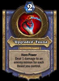 """Upgraded"" Fauna"