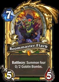 Golden Boommaster Flark