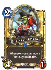 Golden One-eyed Cheat