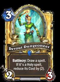Golden Devout Dungeoneer