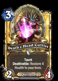 Golden Death's Head Cultist