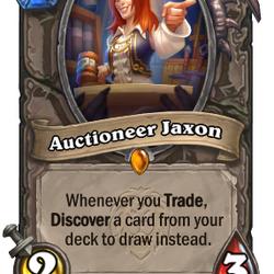 Auctioneer Jaxon