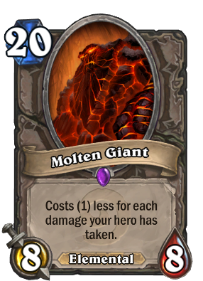 Molten Giant - Hearthstone Wiki