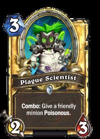 Golden Plague Scientist