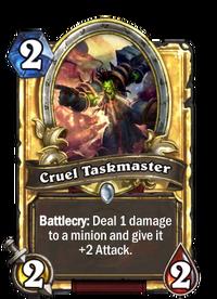 Golden Cruel Taskmaster