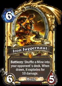 Golden Iron Juggernaut