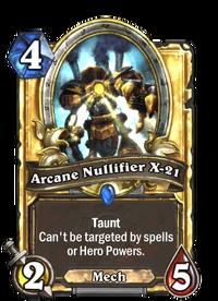 Golden Arcane Nullifier X-21