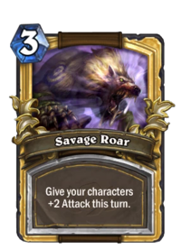 Golden Savage Roar