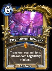 Golden The Storm Bringer