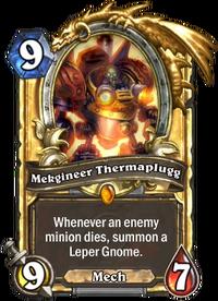 Golden Mekgineer Thermaplugg
