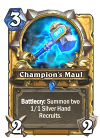 Champion's Maul(76889) Gold.png