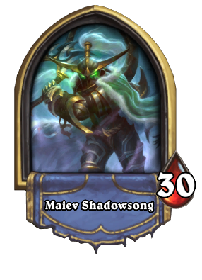 Maiev Shadowsong Hearthstone Wiki Log in or sign up in seconds.| here's a very cool reimagining of the warden maiev shadowsong. maiev shadowsong hearthstone wiki
