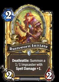 Golden Rustsworn Initiate