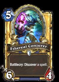 Golden Ethereal Conjurer