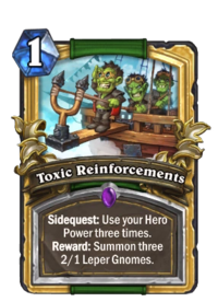 Golden Toxic Reinforcements