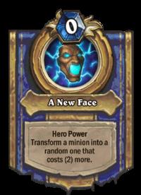 Golden A New Face