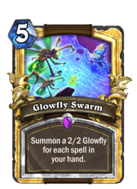 Golden Glowfly Swarm