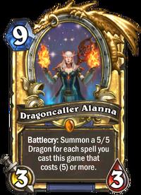 Golden Dragoncaller Alanna