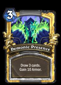 Demonic Presence(42189) Gold.png