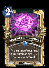 Golden Sigil of Summoning