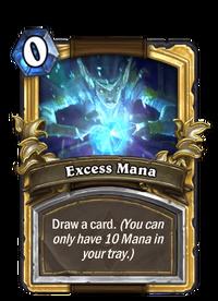 Golden Excess Mana