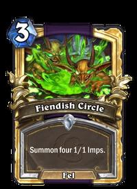 Golden Fiendish Circle