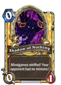 Golden Shadow of Nothing