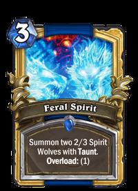 Golden Feral Spirit