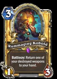 Rummaging Kobold(76879) Gold.png