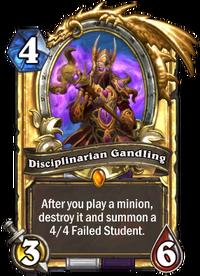 Golden Disciplinarian Gandling