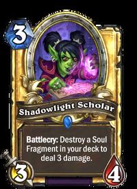 Golden Shadowlight Scholar