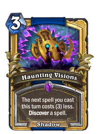 Golden Haunting Visions