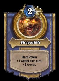 Golden Shapeshift
