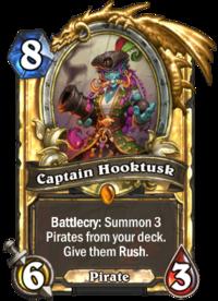 Golden Captain Hooktusk