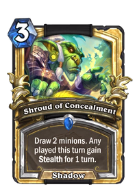 Golden Shroud of Concealment