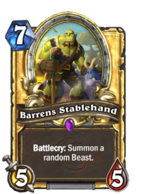 Golden Barrens Stablehand