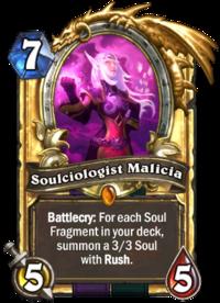 Golden Soulciologist Malicia
