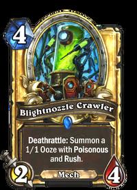 Golden Blightnozzle Crawler