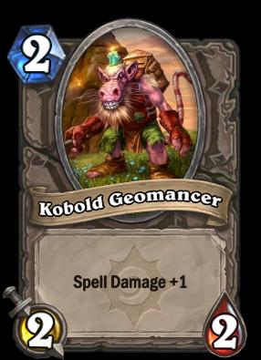 Kobold Geomancer Hearthstone Heroes Of Warcraft Wiki