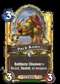 Golden Pack Kodo