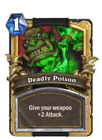 Golden Deadly Poison