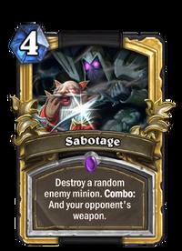 Golden Sabotage