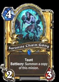 Golden Saronite Chain Gang