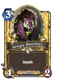 Golden Jungle Panther